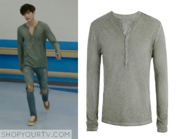 Park Hoon's Henley Shirt