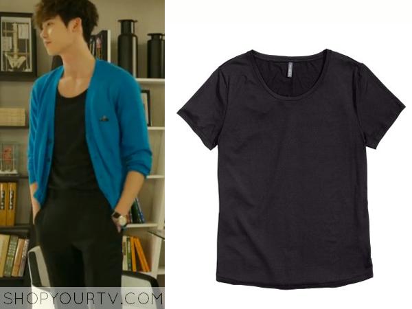 Park Hoon's Black T-Shirt