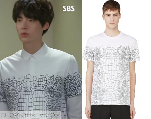 Park Tae-Il's Croc Print T-Shirt