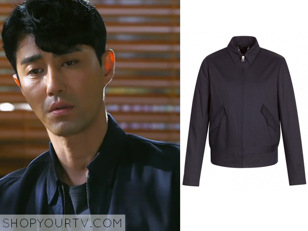 Seo Pan Seok's Navy Blue Jacket