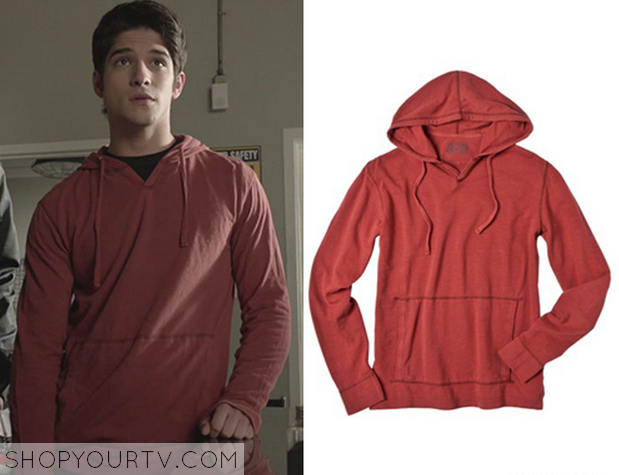 41f5221993c Teen Wolf  Season 2 Episode 8 Scott s Red Hoodie