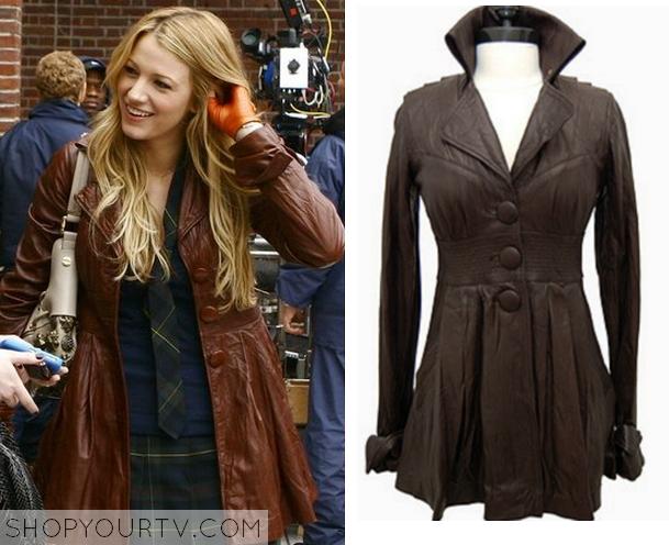 serena brown coat