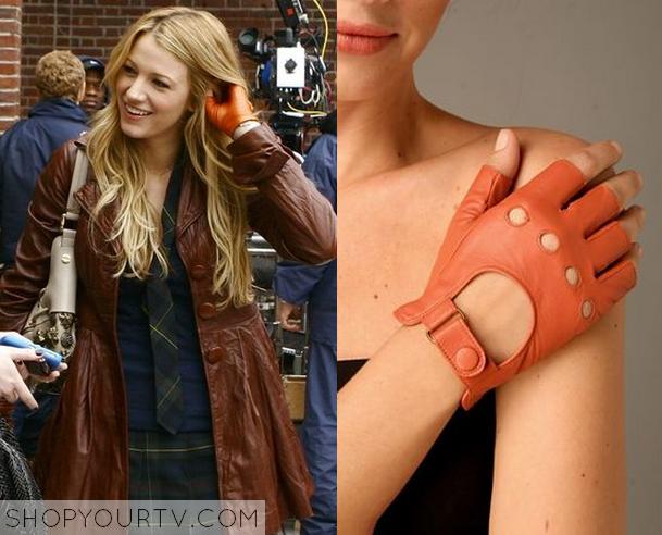 serena orange gloves