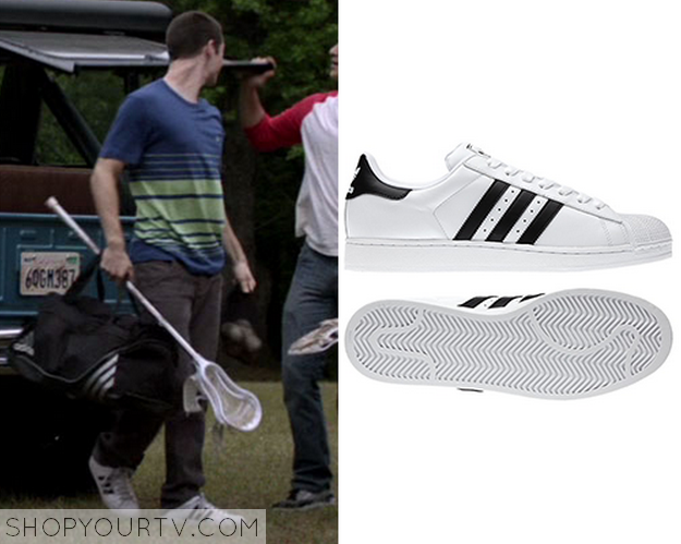 stiles white sneaker. They are the Adidas Originals ...