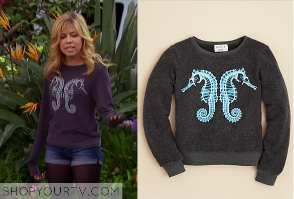 Shop Your TV: Sam & Cat: Season 1 Episode 34: Seahorse Sweater