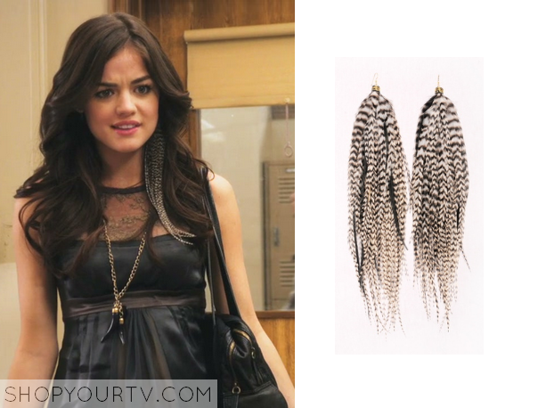 Aria Feather Earring