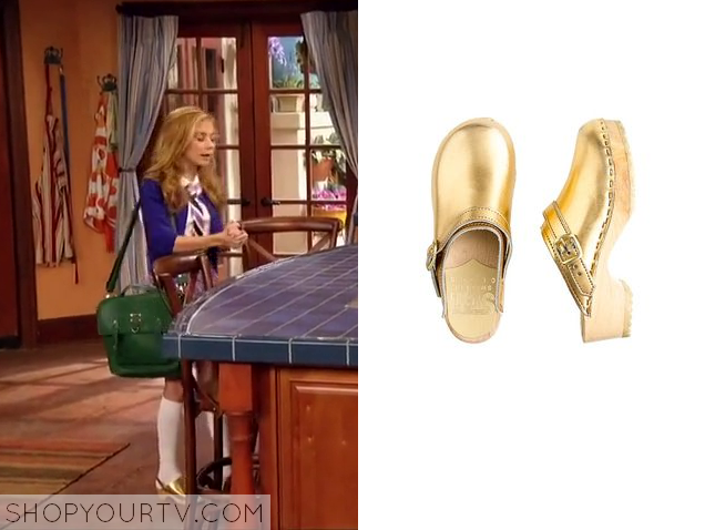 avery gold clogs
