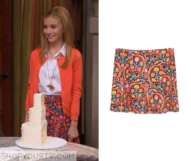 avery paisley skirt