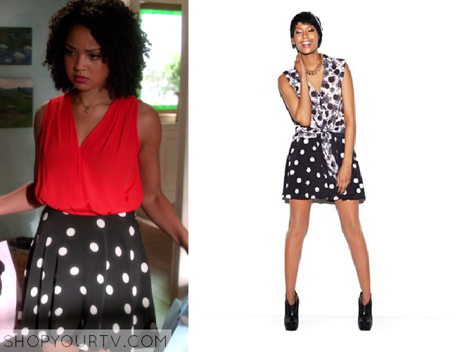 Chasing Life: Season 1 episode 4 Beth's polka dot skirt | Shop Your TV