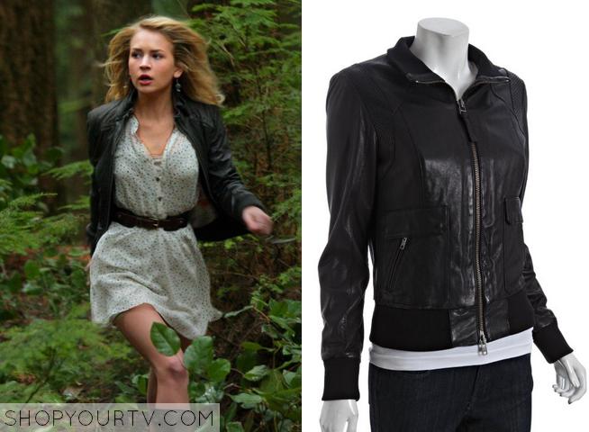 cassie leather jacket