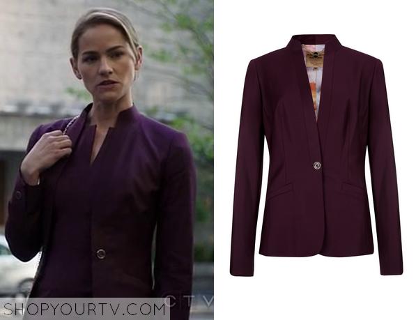 emily purple jacket
