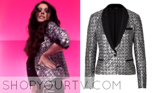 Really Don't Care Music Video: Cher Lloyd's Silver Blazer