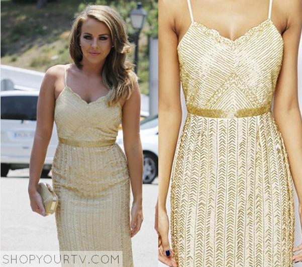 Buy Gold Dress