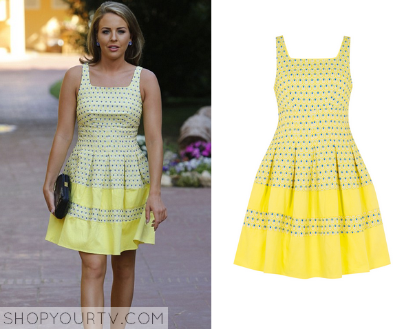 Lydia towie yellow dress