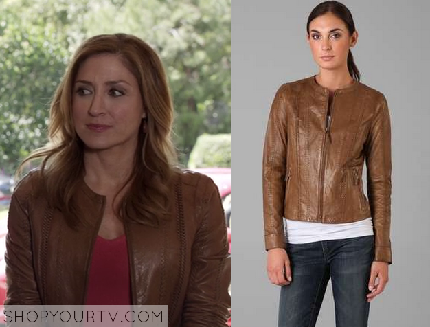maura leather jacket
