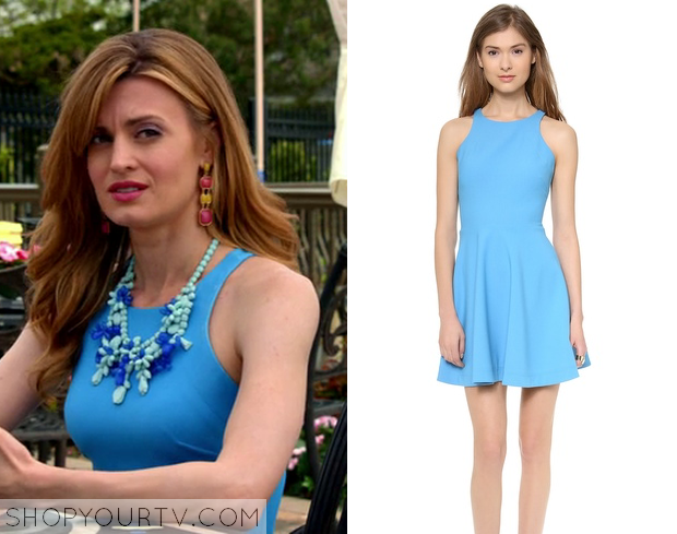 paige blue dress