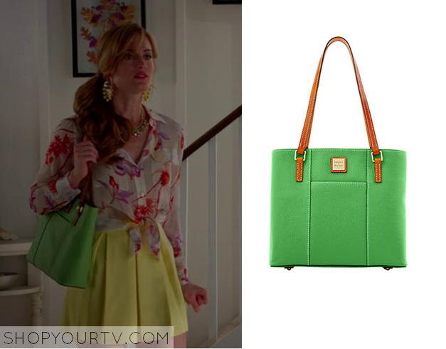 paige green bag