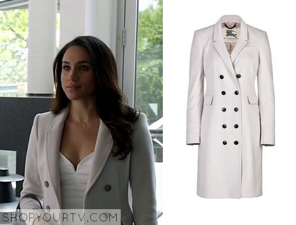 rachel zane white coat