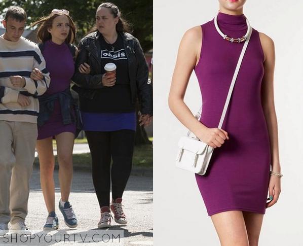 chloe purple dress