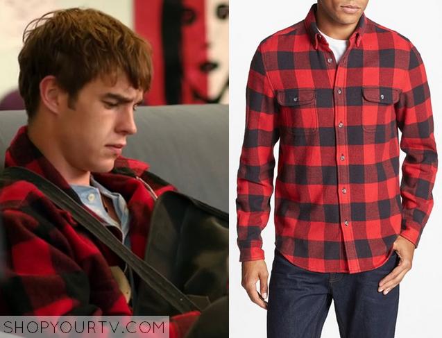 finn red plaid shirt