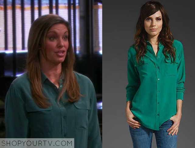 leslie green blouse