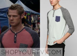 The Fosters: Season 2 Episode 9 Liam's Pocket Henley