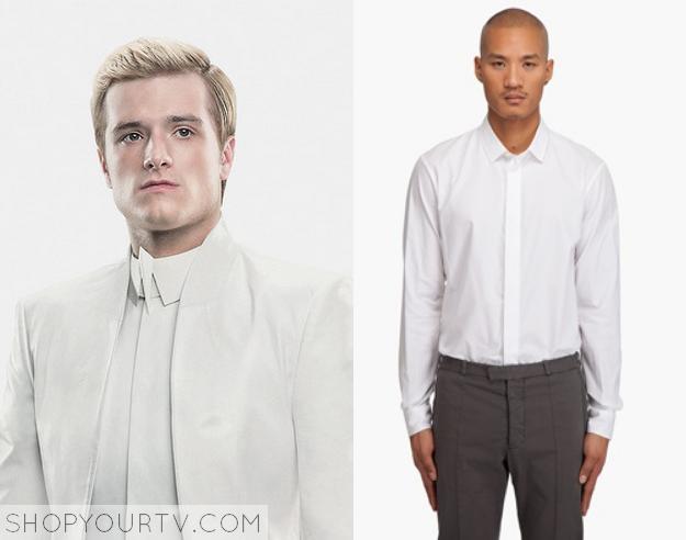 peeta white shirt