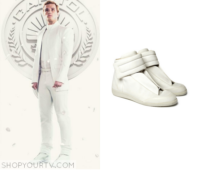 peeta white sneakers