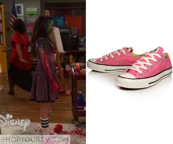 2d11eae9b290c4 Riley Matthews (Rowan Blanchard) wears these pink sneakers in this week s  episode of Girl Meets World. s. They are the Converse All Star Chuck Taylor  ...