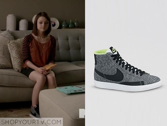carter grey sneakers