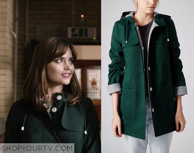 clara green coat
