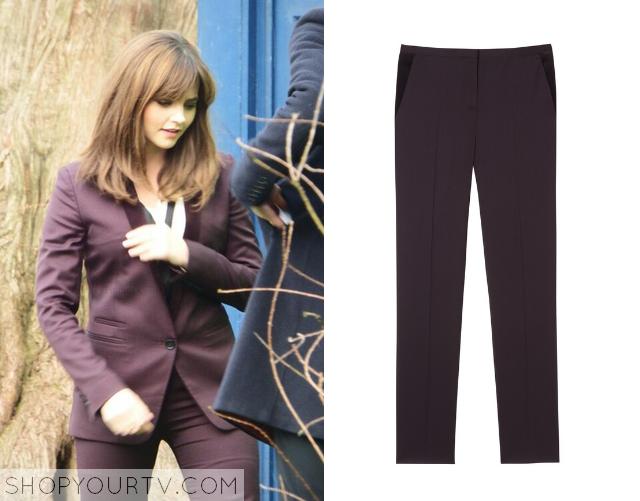 clara purple pants