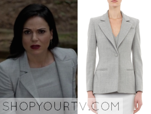 Once Upon a Time: Season 4 Episode 1 Regina's Grey Blazer