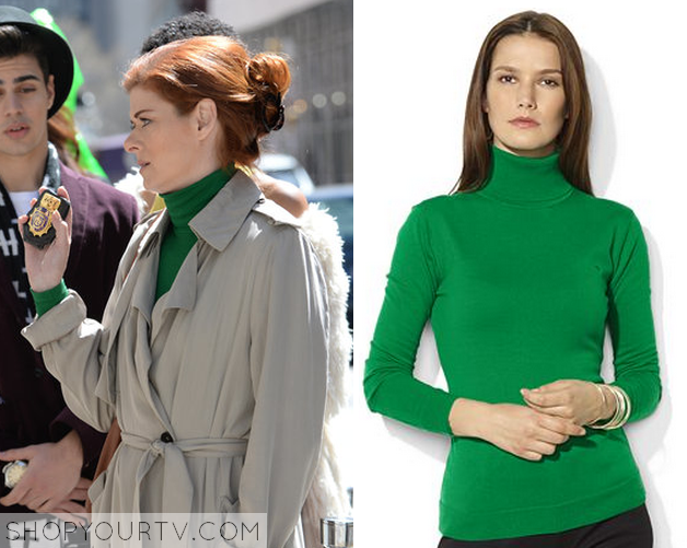 laura green turtleneck
