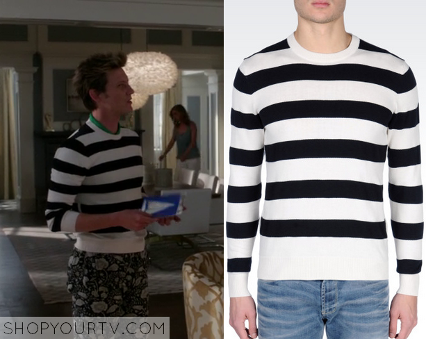 nolan striped sweater