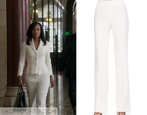 White Pants Season Olivia White Pants