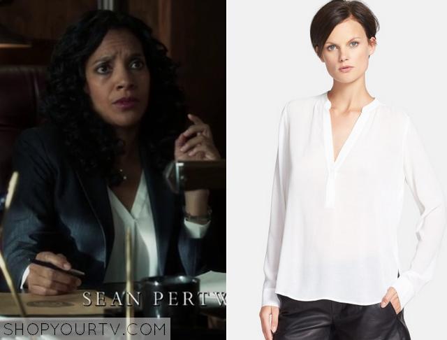 sarah white blouse