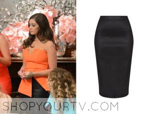 The Bachelor AU: Season 2 Episode 13 Lisa's Black Skirt