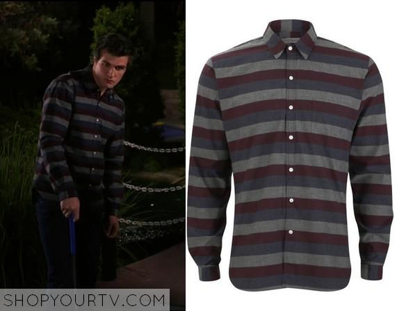 3x16 Matty's Stripe Shirt