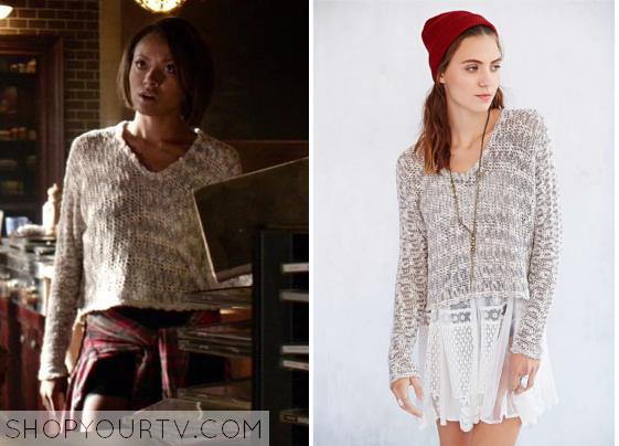 The Vampire Diaries: Season 6 Episode 2 Bonnie's Slub Knit
