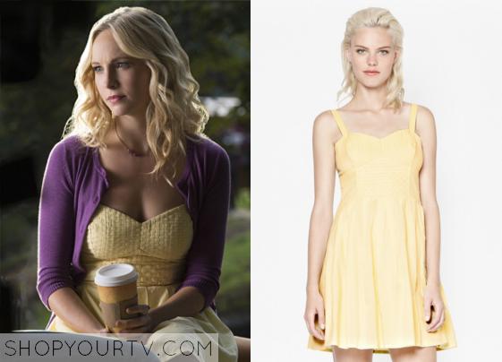 The Vampire Diaries: Season 6 Episode 7 Caroline's Woven Bustier