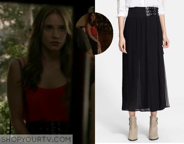 charlotte belted skirt
