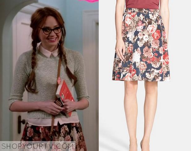 eliza floral skirt