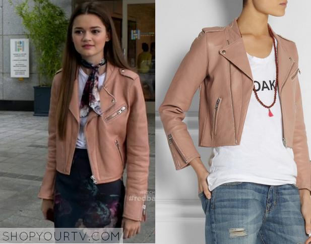 emma pink leather