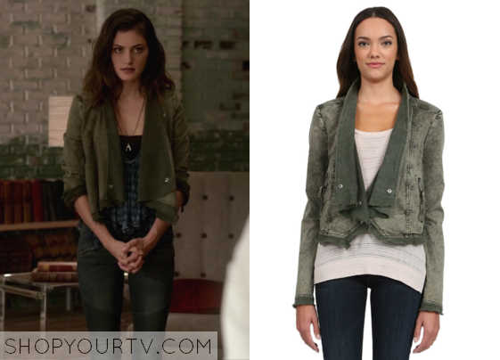 The Originals: Season 2 Episode 4 Hayley's Asymmetrical Cropped Moto