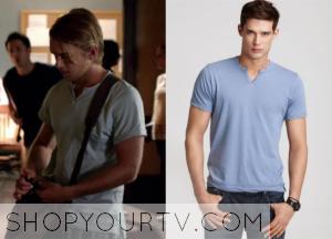 The Vampire Diaries: Season 6 Episode 3 Luke's Split Neck Tee