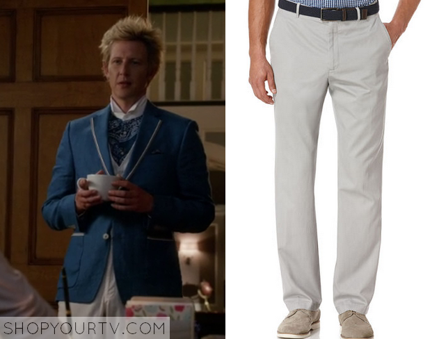 White Pants Season Nolan White Pants