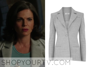 Once Upon a Time: Season 4 Episode 4 Regina's Grey Blazer