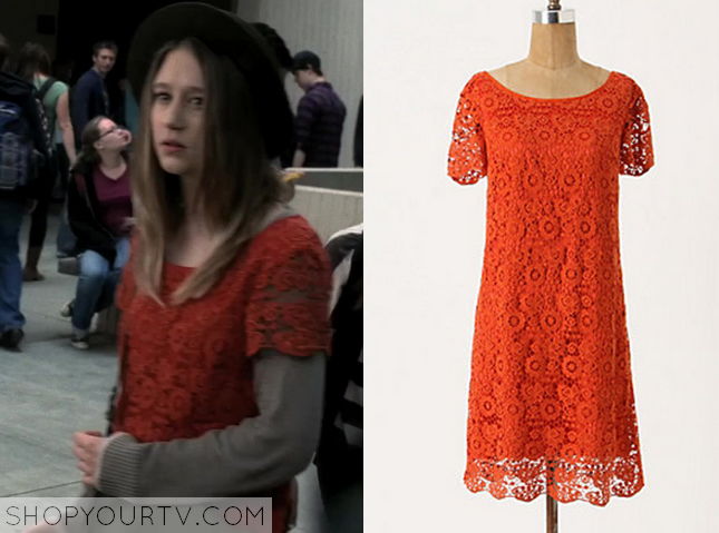 352f65356db American Horror Story  Season 1 Episode 1 Violet s Red Crochet Dress