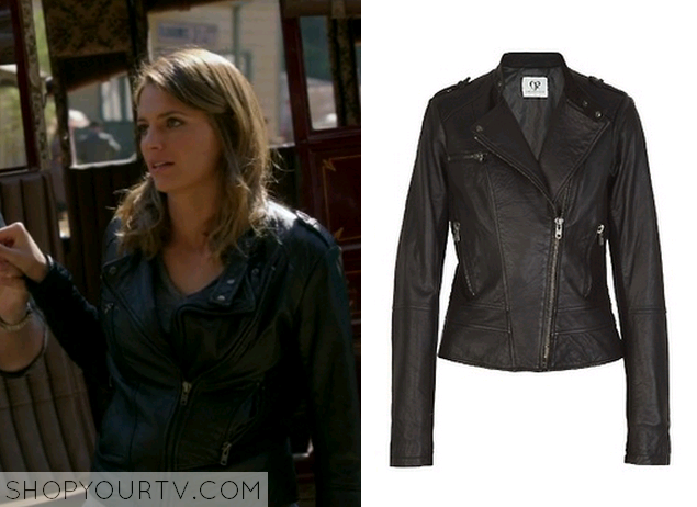 beckett leather jacket